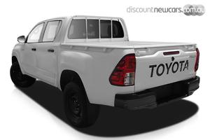 2020 Toyota Hilux Workmate Manual 4x4 Double Cab