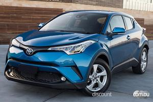 2019 Toyota C-HR Manual 2WD