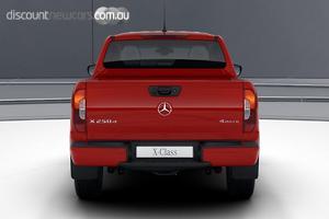 2020 Mercedes-Benz X-Class X250d Progressive Manual 4MATIC Dual Cab