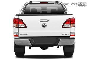 2018 Mazda BT-50 GT UR Manual 4x4 Dual Cab