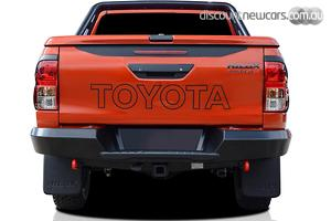 2019 Toyota Hilux Rugged X Manual 4x4 Double Cab