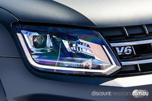 2019 Volkswagen Amarok TDI580 Highline Black 2H Auto 4MOTION Perm MY19 Dual Cab