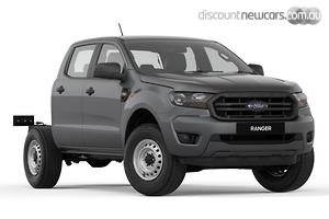 2019 Ford Ranger XL Hi-Rider PX MkIII Auto 4x2 MY20.25 Double Cab