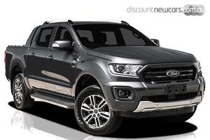 2021 Ford Ranger Wildtrak PX MkIII Manual 4x4 MY21.25 Double Cab