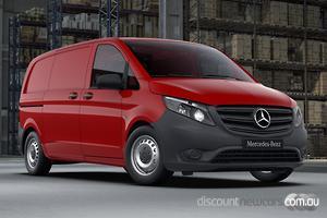 2021 Mercedes-Benz Vito 111CDI SWB Manual
