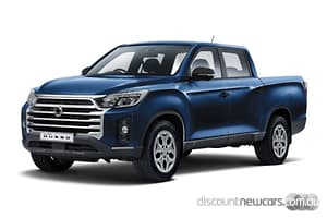 2021 SsangYong Musso ELX Manual 4x4 MY21