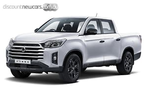 2021 SsangYong Musso Ultimate Luxury Auto 4x4 MY21