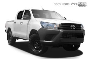2019 Toyota Hilux Workmate Manual 4x4 Double Cab