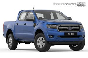 2019 Ford Ranger XLS PX MkIII Manual 4x4 MY19 Double Cab