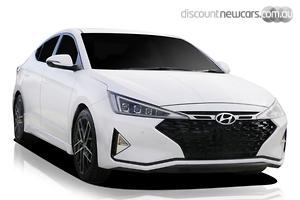 2020 Hyundai Elantra Sport Premium Manual MY20