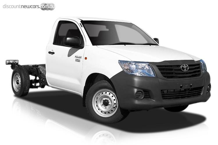 2015 Toyota Hilux Workmate Manual MY14