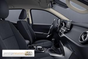 2018 Mercedes-Benz X-Class X250d Progressive Manual 4MATIC Dual Cab